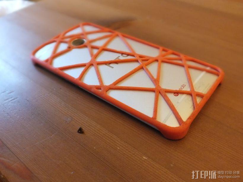 htc one手机保护壳 3D模型  图1