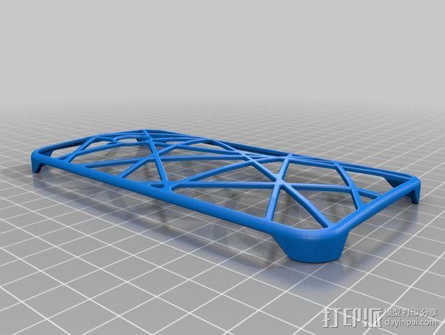 htc one手机保护壳 3D模型  图2