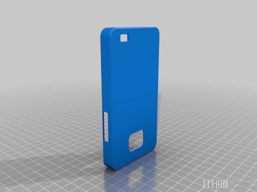 三星 Galaxy S2手机外壳 3D模型  图1