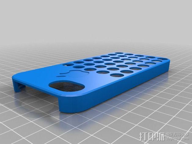 iPhone 5C手机外壳 3D模型  图2