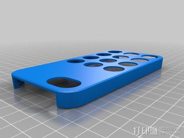iPhone 5C手机外壳 3D模型  图3