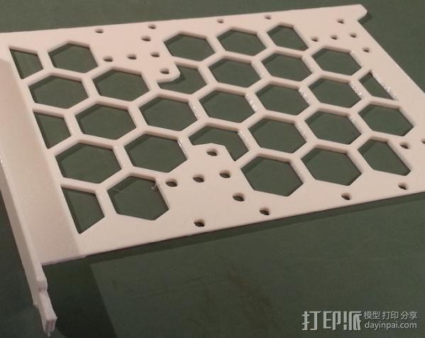 电脑硬盘支架 3D模型  图4
