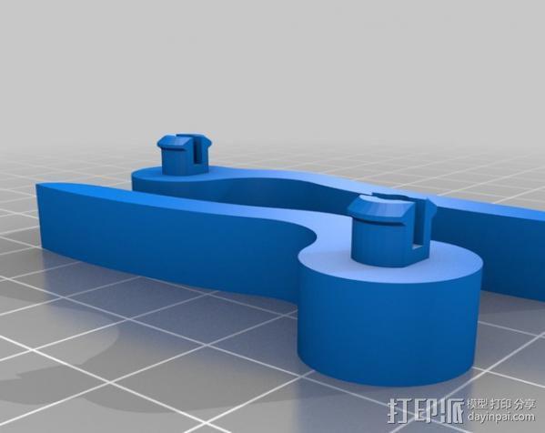 平板电脑支撑架 3D模型  图4