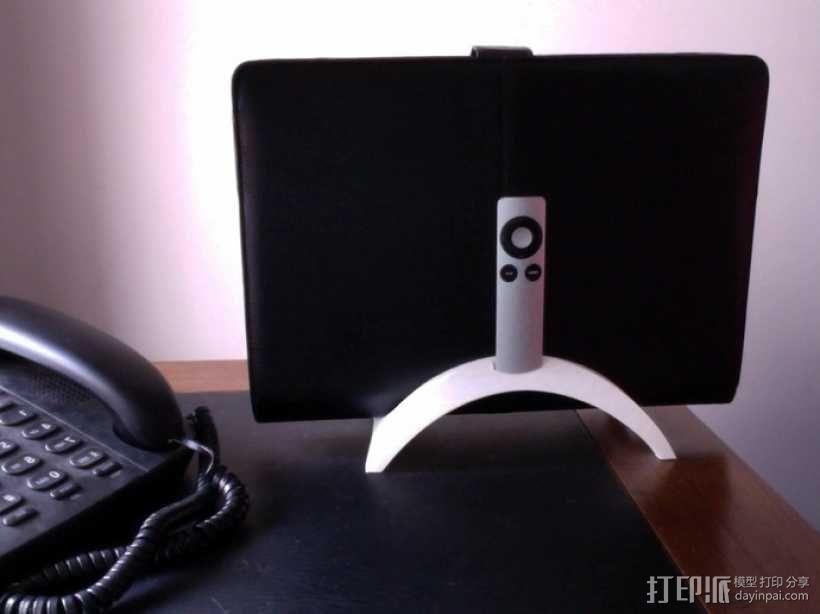 Mac Book/iPad 电脑支撑架 3D模型  图1
