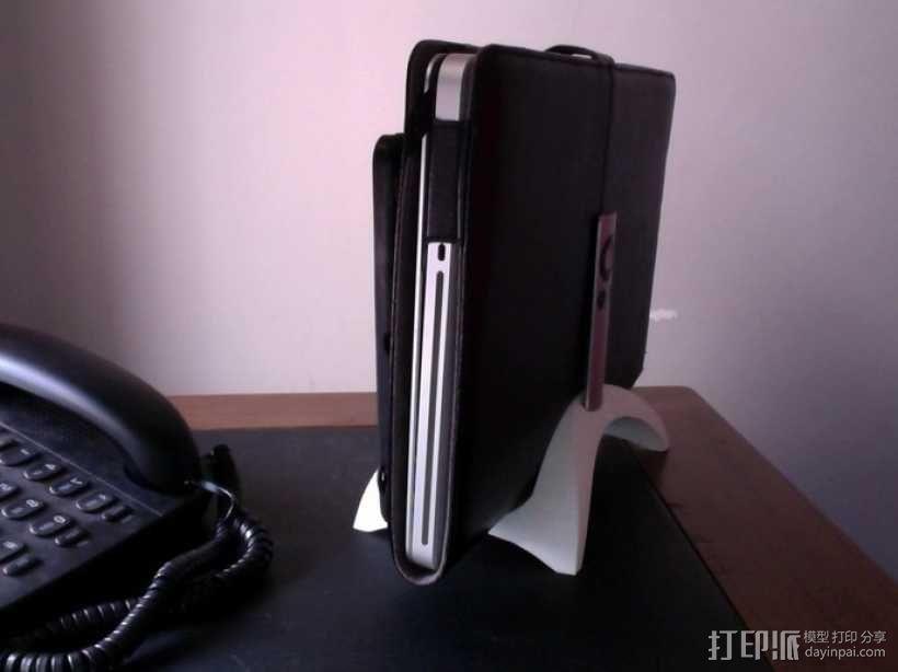 Mac Book/iPad 电脑支撑架 3D模型  图4