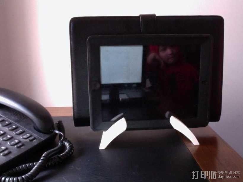 Mac Book/iPad 电脑支撑架 3D模型  图3