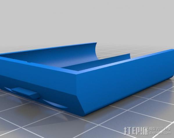 XBox 360 游戏机无线手柄 3D模型  图2