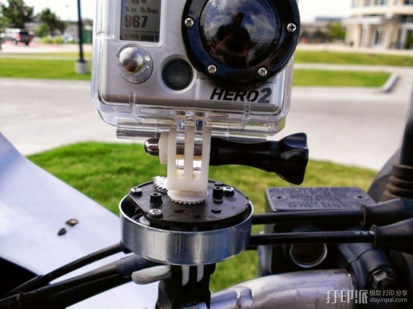 相机支撑架平移装置 3D模型  图1
