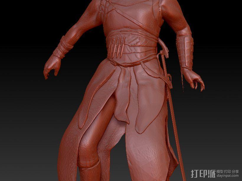 刺客信条人物模型 3D模型  图2