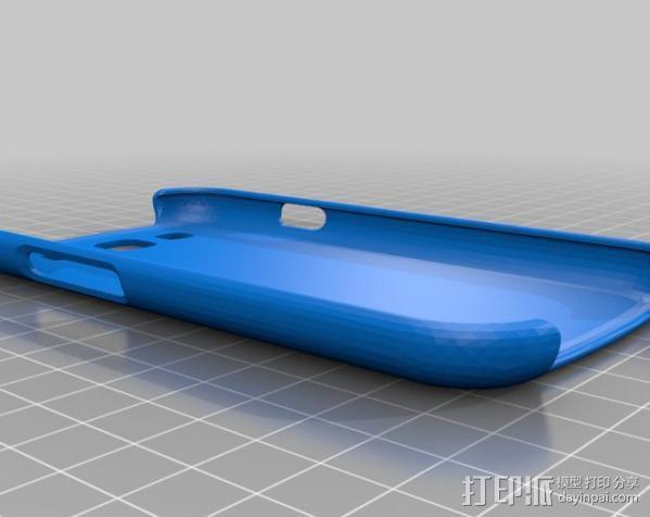 三星Galaxy S3手机外壳 3D模型  图1