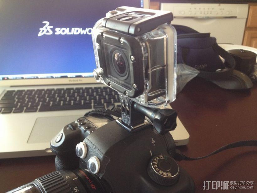 GoPro 相机热靴底座 3D模型  图3