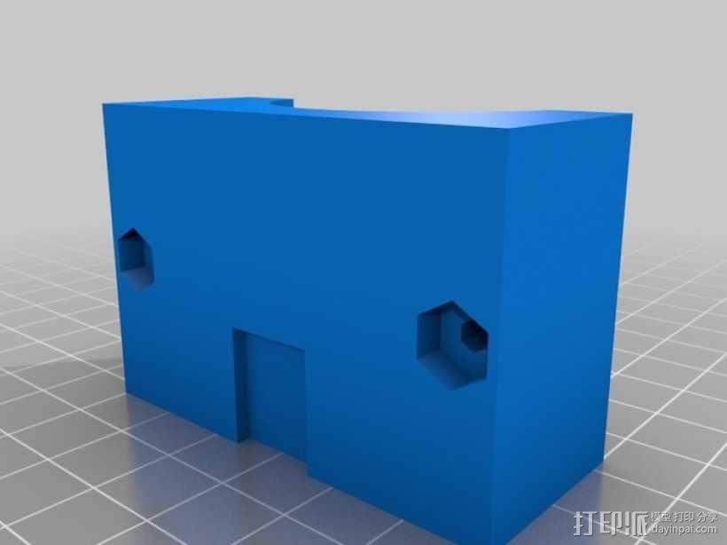 通用式手机座 望远镜适配器 3D模型  图9
