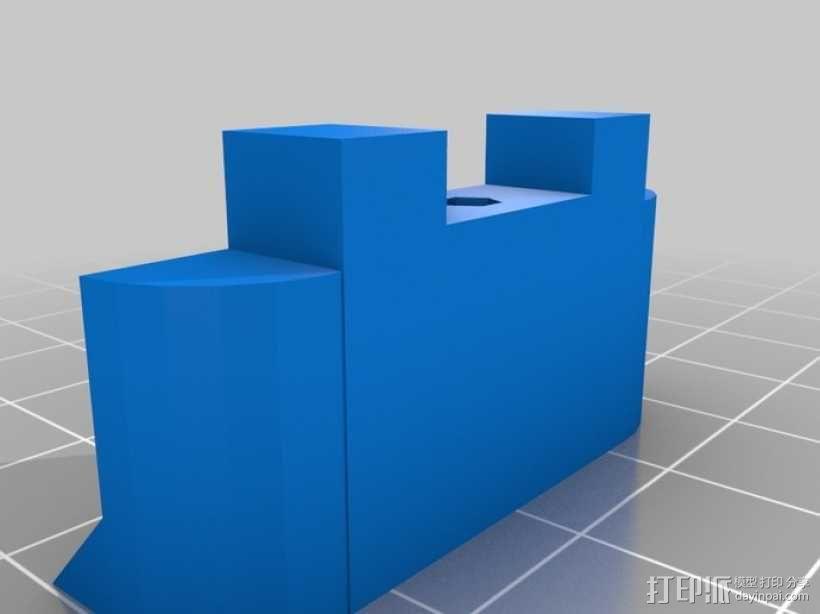 通用式手机座 望远镜适配器 3D模型  图11