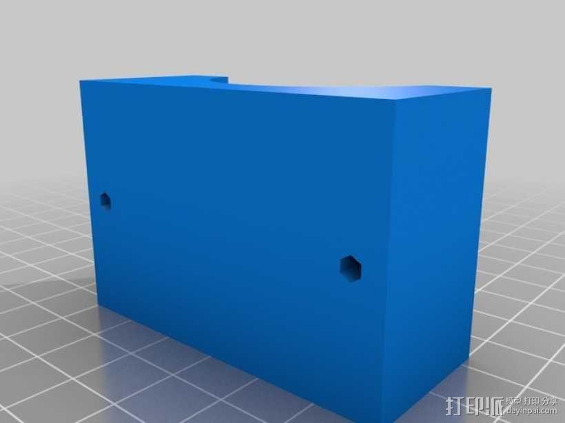 通用式手机座 望远镜适配器 3D模型  图10