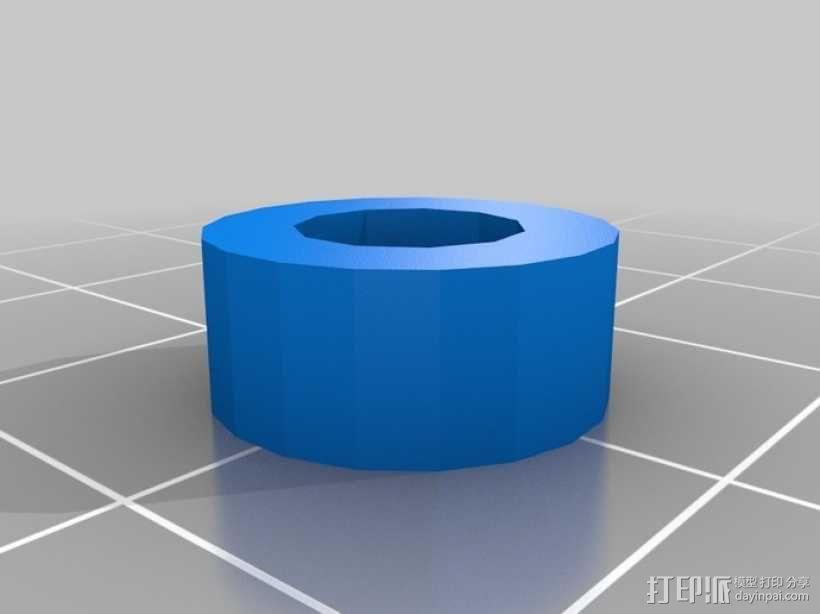通用式手机座 望远镜适配器 3D模型  图13