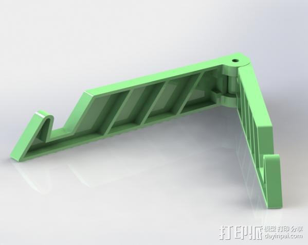 简易的 iPad支架 3D模型  图1