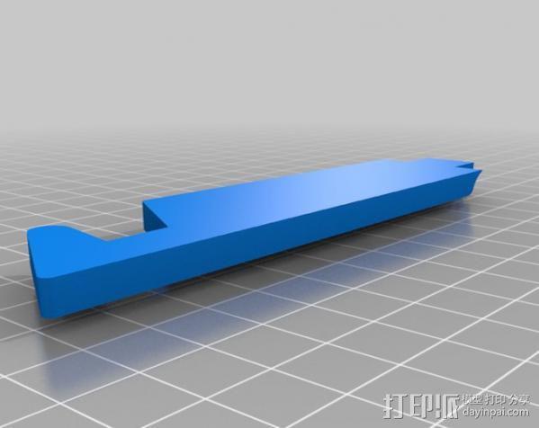 简易的 iPad支架 3D模型  图3