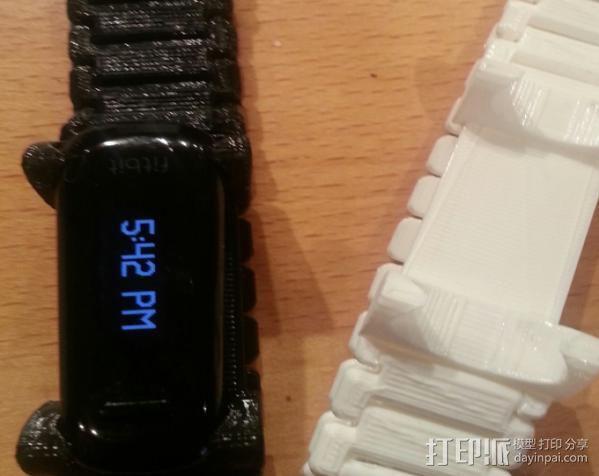 FitBit 腕带 3D模型  图2