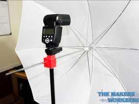 摄影反光伞固定器 3D模型