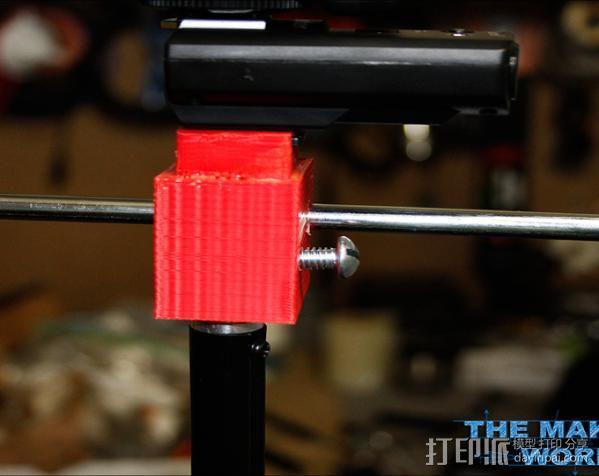 摄影反光伞固定器 3D模型  图4