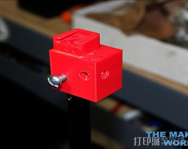 摄影反光伞固定器 3D模型  图7