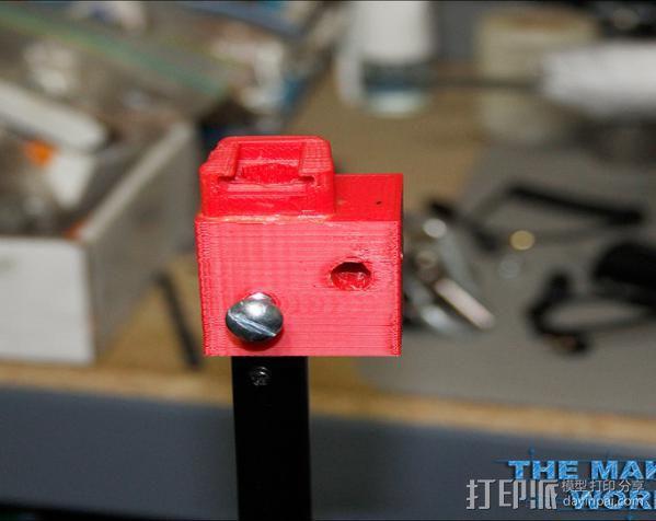 摄影反光伞固定器 3D模型  图6