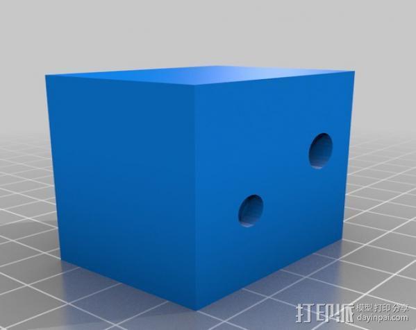 摄影反光伞固定器 3D模型  图8