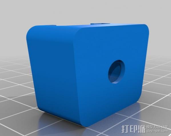 摄影反光伞固定器 3D模型  图9