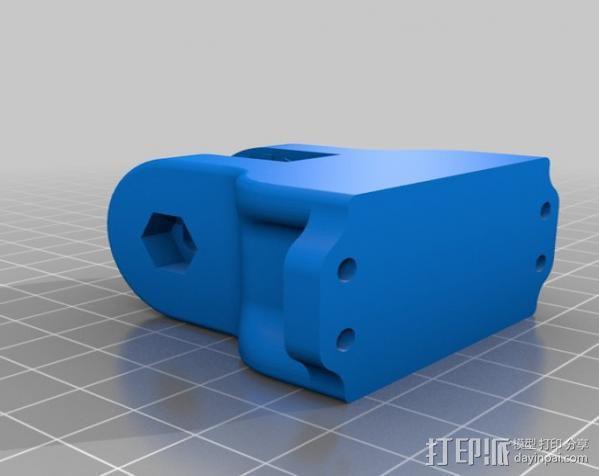 车载式iPhone手机座 扩音器 3D模型  图7