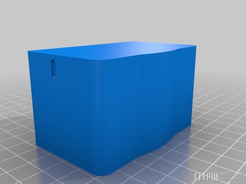 佳能580EX II相机闪光灯罩 3D模型  图5