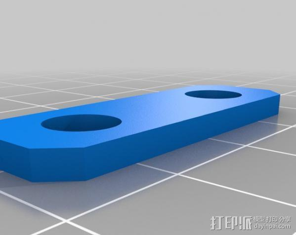 直线传送带 3D模型  图5