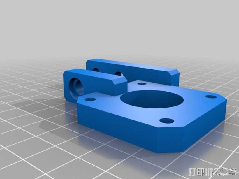 直线传送带 3D模型  图10
