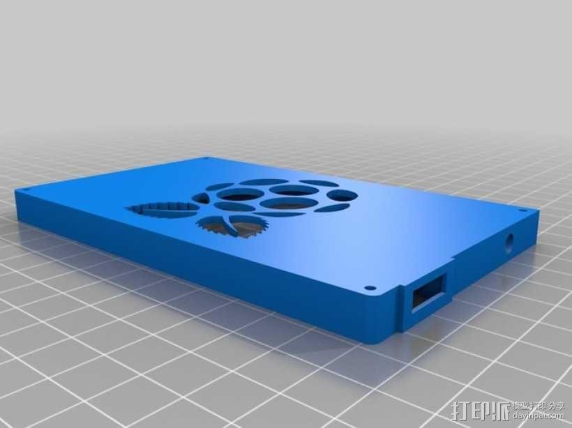 树莓派游戏机外盒 3D模型  图2