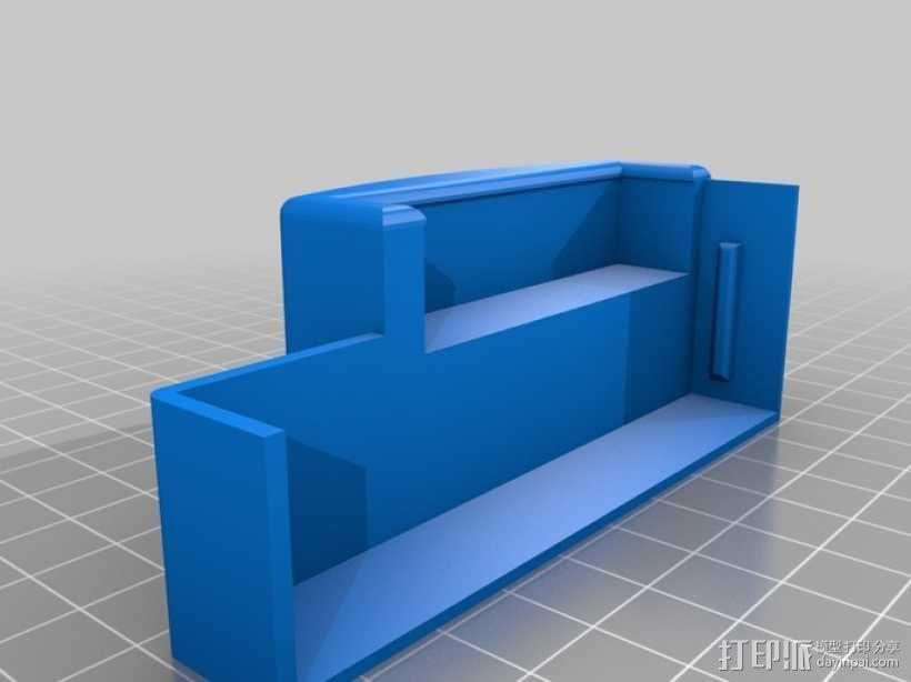 树莓派游戏机外盒 3D模型  图8