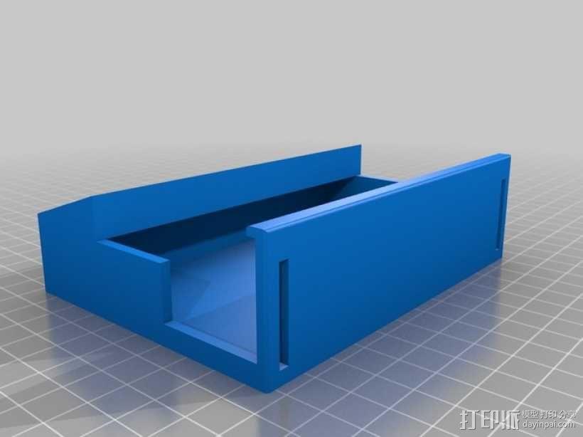 树莓派游戏机外盒 3D模型  图7