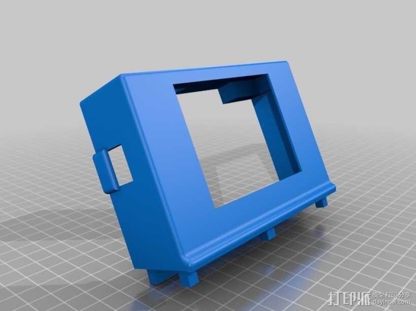 树莓派游戏机外盒 3D模型  图6