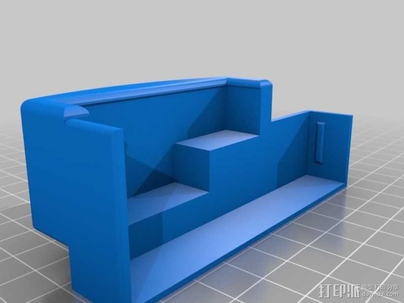 树莓派游戏机外盒 3D模型  图9