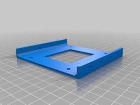 硬盘驱动适配器 保护框  3D模型