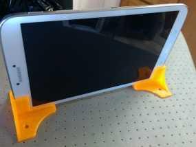 三星Samsung Tab 8平板电脑直立支撑架 3D模型