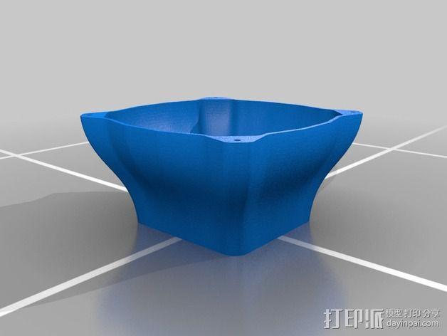 电脑CPU风扇罩 3D模型  图2