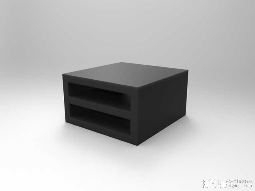 双层硬盘盒 3D模型  图5