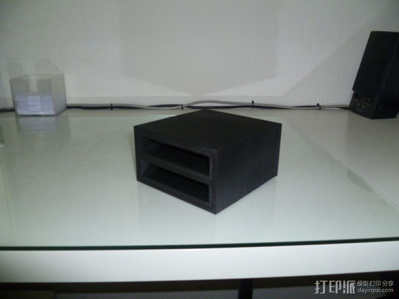 双层硬盘盒 3D模型  图9