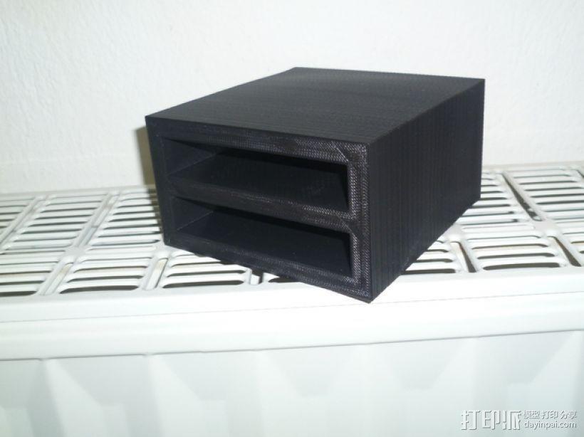 双层硬盘盒 3D模型  图8