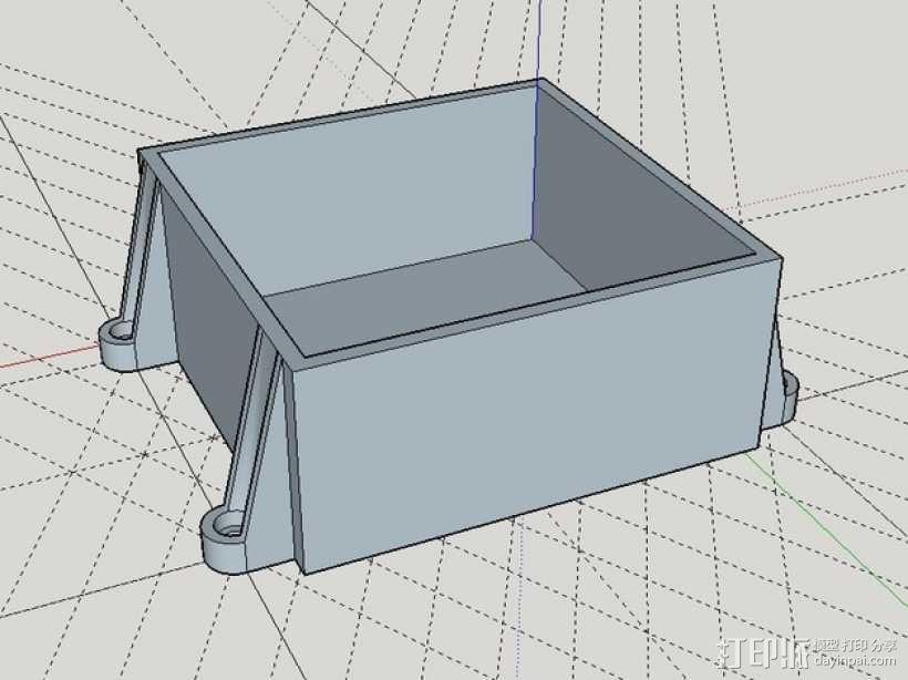 储物盒 游戏机盒 3D模型  图1