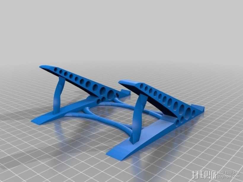鼠标架 3D模型  图1