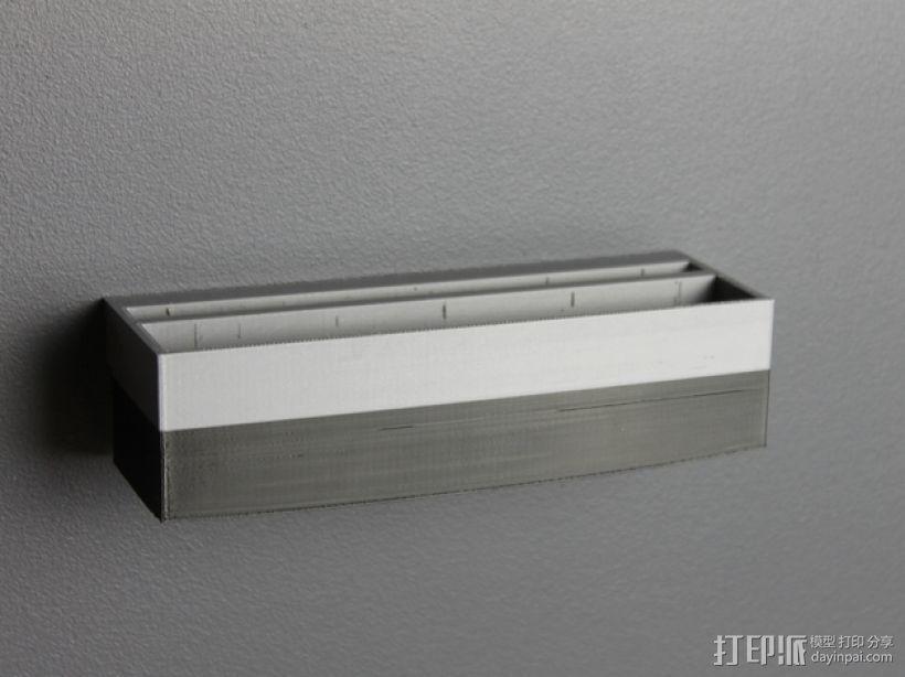 壁挂式手机充电座 3D模型  图7