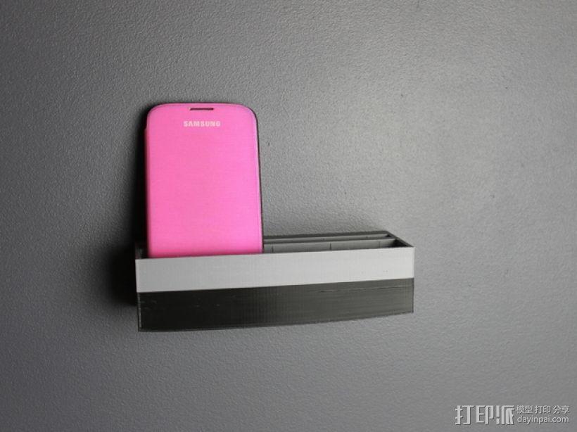 壁挂式手机充电座 3D模型  图9