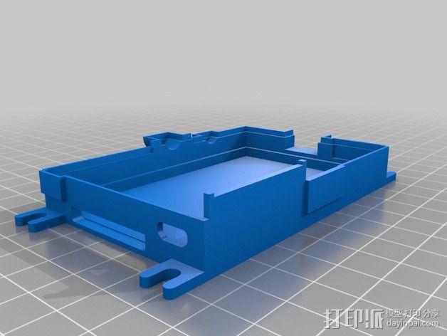 树莓派外盒 3D模型  图3