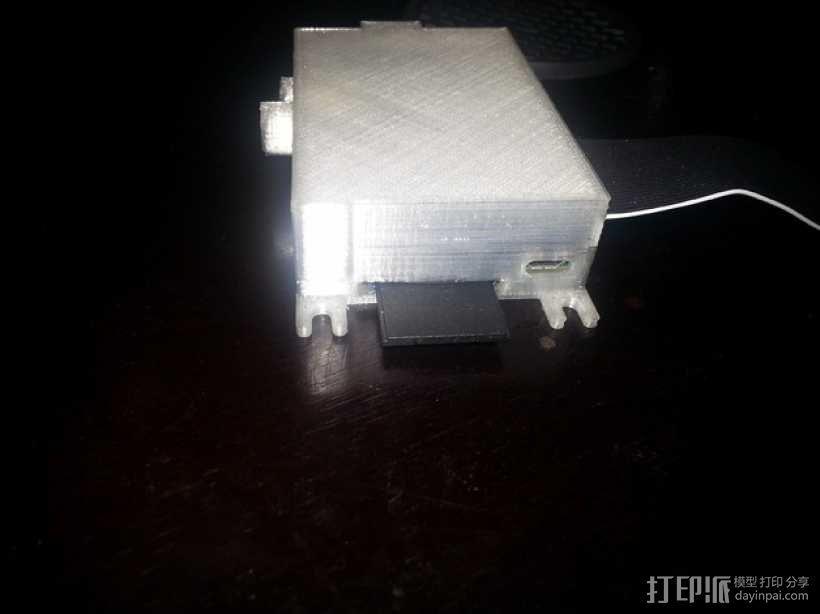 树莓派外盒 3D模型  图5