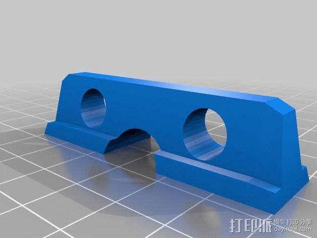 电缆固定器 3D模型  图2